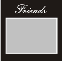 Friends - 6x6 Overlay