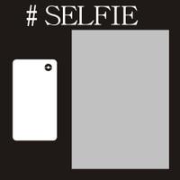 Selfie - 6x6 Overlay