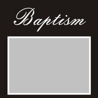 Baptism - 6x6 Overlay