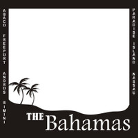 The Bahamas with Locations - 12x12 Overlay