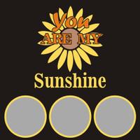 You are my Sunshine - 12x12 Overlay