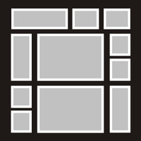 Template 3 - 12x12 Overlay