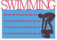 Swimming - Die Cut