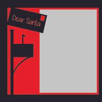 Dear Santa - 6x6 Overlay