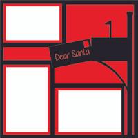 Dear Santa - 12x12 Overlay