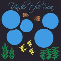 Under the Sea - 12x12 Overlay