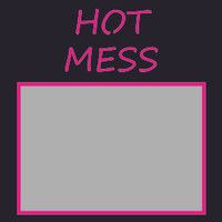 Hot Mess - 6x6 Overlay