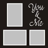 You & Me - 12x12 Overlay
