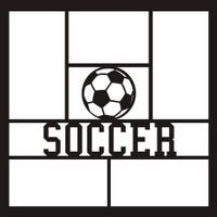 Soccer - 12x12 Overlay