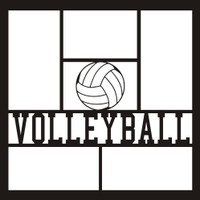 Volleyball - 12x12 Overlay