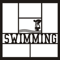 Swimming - 12x12 Overlay