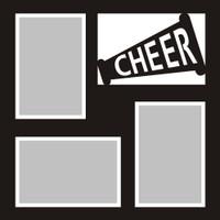 Cheerleading - 12x12 Overlay
