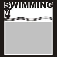 Swimming - 6x6 Overlay