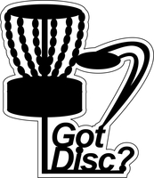 Got Disc - Die Cut