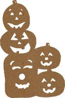 Pumpkin Stack Large 2 Pack - Chipboard Shapes