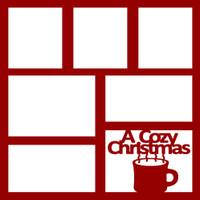 A Cozy Christmas - 12x12 Overlay