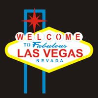 Las Vegas Sign - Die Cut