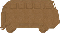 VW Bus Chipboard Album