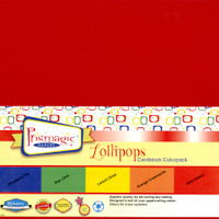 Lollipops Multicolor Pack - 25 Pack Mulitcolor Cardstock