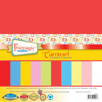 Carousel Multicolor Pack - 25 Pack Mulitcolor Cardstock