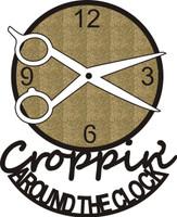 Croppin' Around the Clock - Die Cut