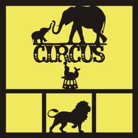 Circus- 12x12 Overlay