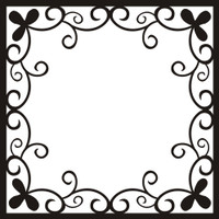 Fancy Frame 2 - 12x12 Overlay