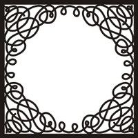 Fancy Frame 4 - 12x12 Overlay