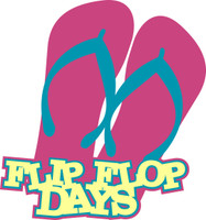 Flip Flop Days - Laser Die Cut