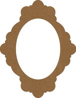 Chipboard Frame - Bella - Chipboard Embellishment