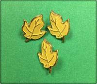 Leaf Brad Yellow 6 Pack