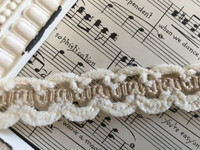 Jute - Chenille Braid 3/4 ""