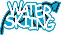 Water Skiing - Laser Die Cut