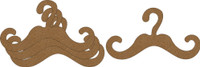 Swirly Hanger Small 4 Pack - Chipboard Embellishment