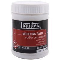 Liquitex - 	8 OUNCES -MODELING PASTE