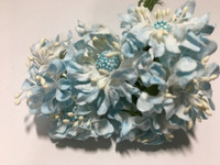 Light Blue Paper Flower #8105