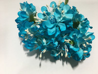Turquoise Paper Flower #8105