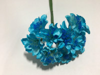 Turquoise Paper Flower #8102