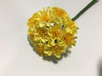 Yellow Paper Flower #8102