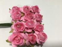 Pink Mini Paper Flower 8050E