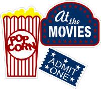 At the Movies - Die Cut