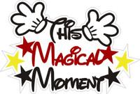 This Magic Moment - Die Cut