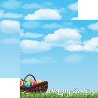 Happy Easter - Reminisce Double Sided 12 x 12 Paper