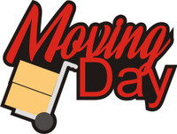 Moving Day - Die Cut