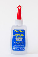 Zip Dry is a premium paper glue with archival quality. It is acid and lignin free for scrapbooks, photo albums, cards, and more. This adhesive will never wrinkle, even tissue or vellum. Strong enough to bond metal, wire, glitter, beads, buttons and more.  Materials It Bonds: Beads, Glitter, Metal finding, Paper, Paper Crafts, Photos, Small embellishments, Wire  Features: Crystal Clear Adhesive  Dries Crystal Clear Fast drying for fast results Easily removable when wet without leaving any residue. Acid Free Lignin Free Does Not Wrinkle Paper Archival Quality  Special precision applicator tip for accuracy  Full Dry Time: 10 mins.  Handling Time: 5 mins.