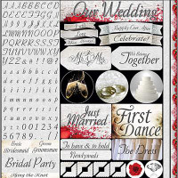 Wedding Day - Reminisce Poster Sticker 12x12