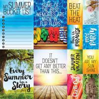 Summertime 12 x 12 Poster Sticker