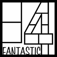Fantastic Four - 12x12 Overlay