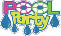 Pool Party - Laser Die Cut