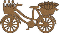 Vintage Bicycle - Chipboard Embellishment